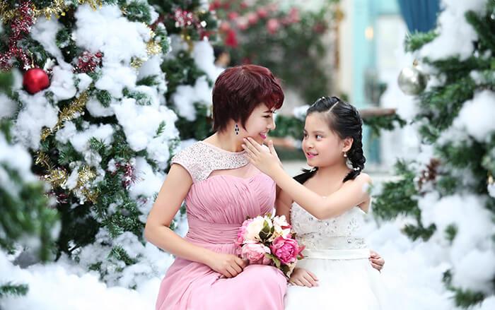 Chụp ảnh gia đình đẹp tại Hà Nội