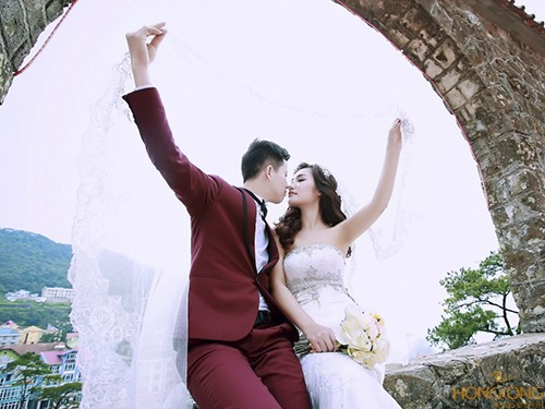 chụp ảnh cưới ở tam đảo
