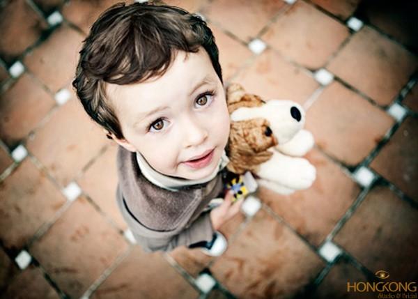 chụp ảnh chân dung cho bé
