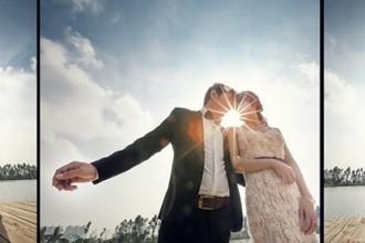 Chụp ảnh cưới mùa Valentine