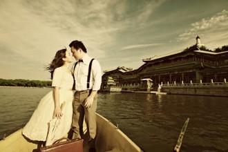 Chụp ảnh cưới lãng mạn cổ điển