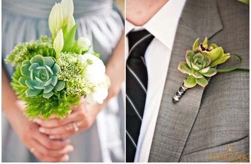 Cách chọn hoa cài áo vest cưới